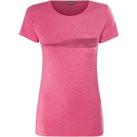 Meru Pylea - T-shirt manches courtes Femme - rose